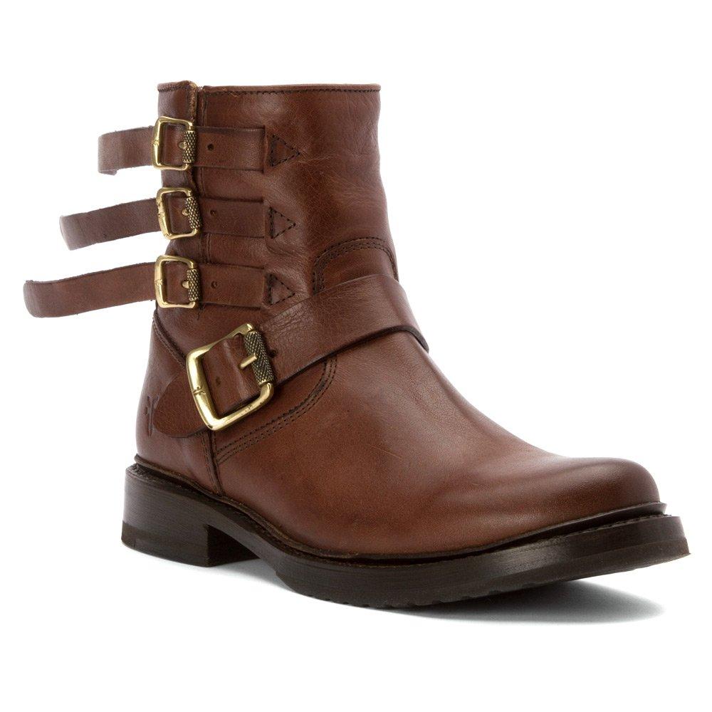 Chocolat FRYE Wohommes Veronica Strap Ankle démarrage 38 38.5 EU