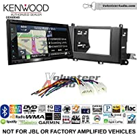 Volunteer Audio Kenwood Excelon DNX694S Double Din Radio Install Kit with GPS Navigation System Android Auto Apple CarPlay Fits 2011-2014 Non Amplified Toyota Sienna