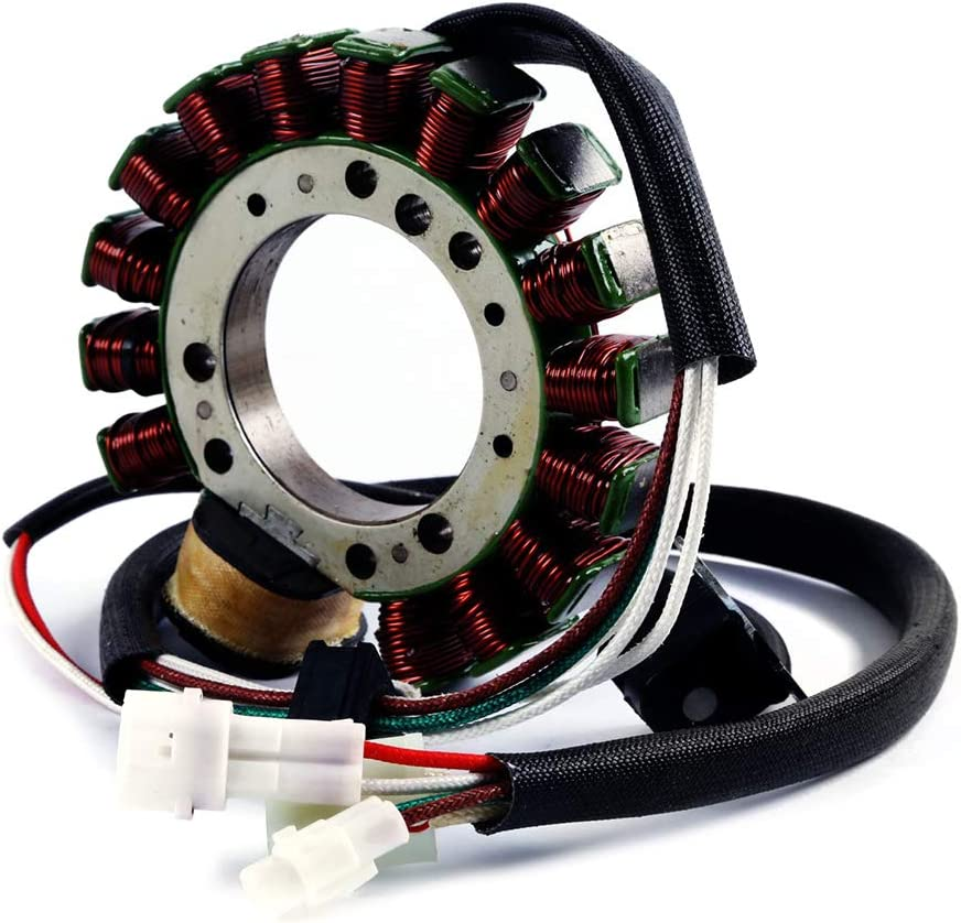 Amhousejoy Stator Coil for Yamaha Motorcycle Warrior 350 YFM350 1996-2001 Replaces 3HN-85510-10-00