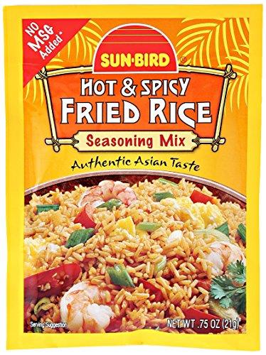 Sunbird Seasoning Mix, Hot & Spicy Fried Rice, 0.75 oz