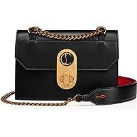 Luxury Fashion | Christian Louboutin Dames 1205061BK01 Zwart Leer Schoudertassen | Seizoen Permanent