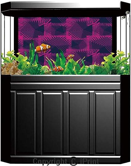 Amazon Com Fish Tank Background Decor Static Image Backdrop