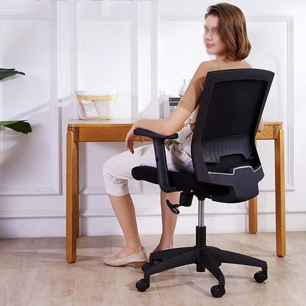 Xiuyun kontorsstol, höjd justerbar ergonomisk verkställande datorstol skrivbordsstol svängbar stol, 90°–115 ° lutning med lyftarmstöd och ryggstöd stol (färg: Stil2) stil2