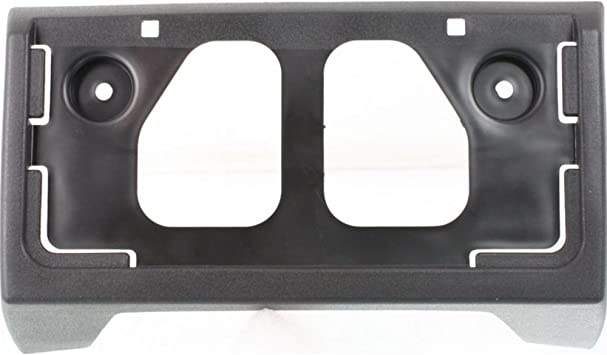 License Plate Bracket Front for 04-12 Chevy Colorado GMC Canyon