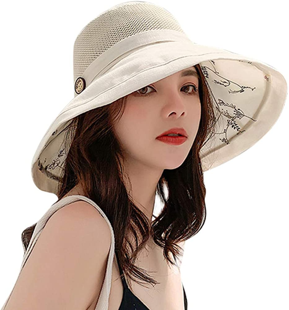 Sumolux Sun Hats Beach Hats for Women New Trend Summer UPF 50+ UV Wide Brim Summer Travel Hat