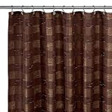 img - for B. Smith Woodlander 72-Inch x 75-Inch Fabric Shower Curtain book / textbook / text book