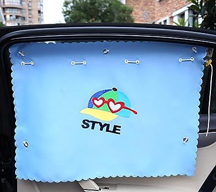 Auto sombrillas - Protección Solar Ventana dibujos animados ...