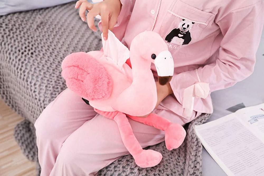 Pink Pig//Flamingo Tissue Box Creative Car Armrest Tissue Case Plush Toys Decor