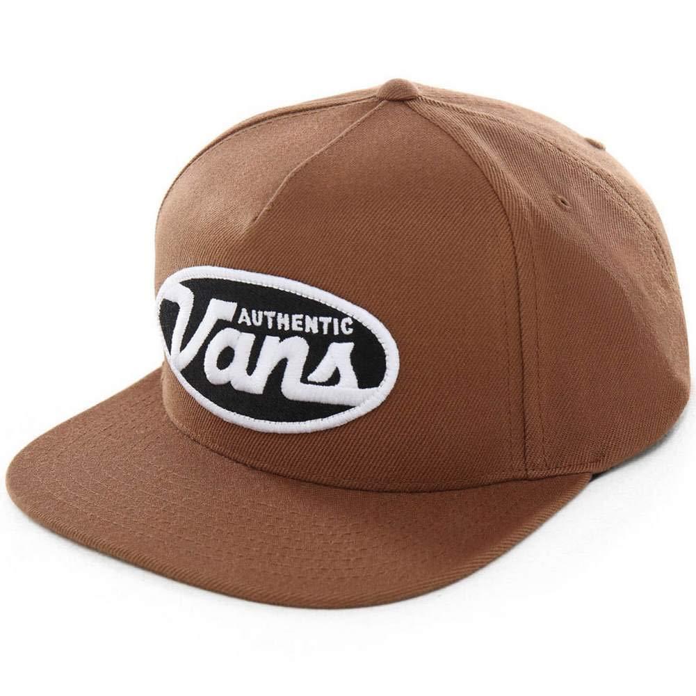 Vans Gorra Moris Snapback Marrón OSFA (Talla única para Todos ...