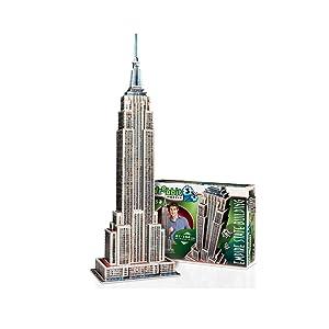 WREBBIT 3D Empire State Building 3D jigsaw puzzle (975-pieces)