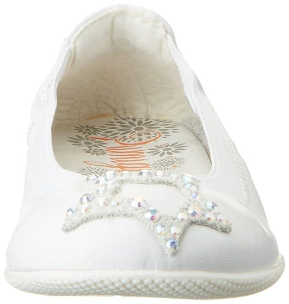 Primigi Mädchen Pff 7218 Geschlossene Ballerinas, Weiß (Bianco), 32 EU