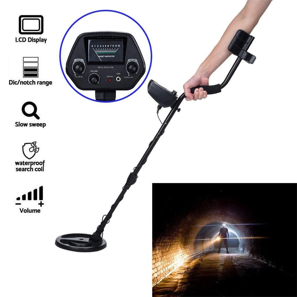 Amazon.com: Sacow Metal Detector, Beginner High Accuracy Waterproof GC-1065 Metal Detectors Suitable Adults Kids Adjustable(35