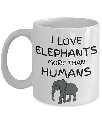 Elephant Lover Gift Funny Coffee Mug