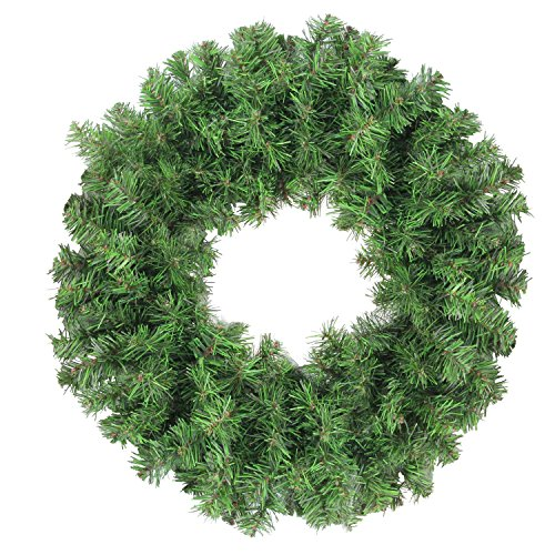 Northlight Colorado Spruce 2-Tone Artificial Christmas Wreath ()