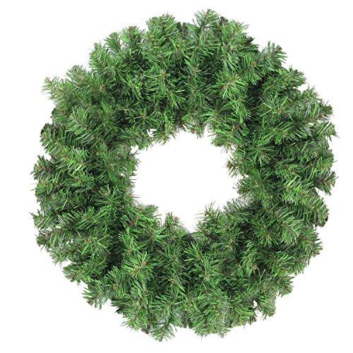 Northlight Colorado Spruce 2-Tone Artificial X-Mas Wreath, Green (Xmas Wreaths)