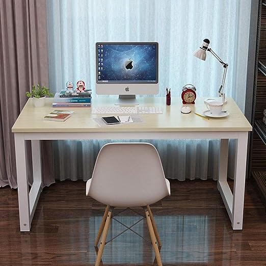 Ncloyn Moderno Madera Mesa De Ordenador,Mesa De Oficina Mesa De ...