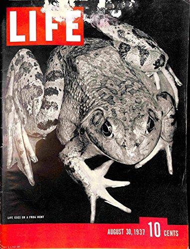 Life Magazine, August 30, 1937 (Rare Vintage Magazine)