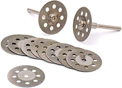 Mandrel  Grinder Rotary Tool Diamond Cutting Blades Wheel 25mm Grinding disc