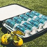 StowCo Wine Beer Backpack Cooler. Insulated Slim Travel Cooler. Lightweight. Hide Beer Wine Drinks. 3 Wine Bottles 10 Cans 6 Beer Bottles.