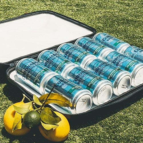StowCo Wine Beer Backpack Cooler. Insulated Slim Travel Cooler. Lightweight. Hide Beer Wine Drinks. 3 Wine Bottles 10 Cans 6 Beer Bottles. by StowCo