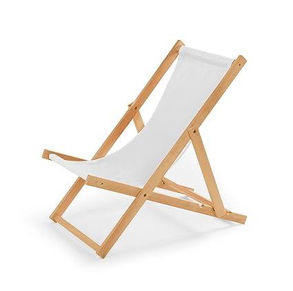 Liegestühle Aus Holz.Gartenliege Aus Holz Liegestuhl Relaxliege Strandstuhl Weiß