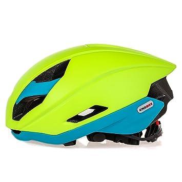 Casco de ciclo bicicleta de carretera ciclismo casco de seguridad CE, unisex adulto bicicleta casco