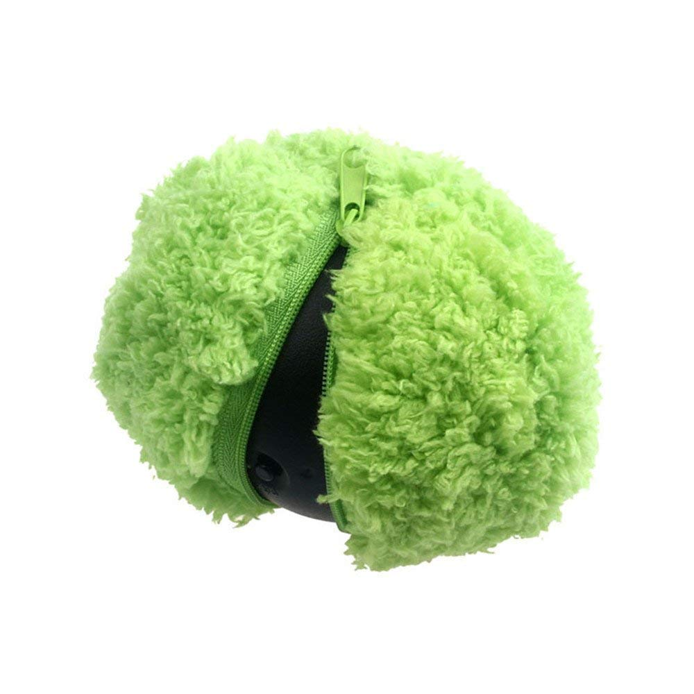 Mini Robotic Cleaner, Leagway Microfiber Mop Ball Mocoro, Automatic Rolling Ball Electric Cleaner, Mini Sweeping Robot, Automatic Vacuum Cleaner Cute Roll Ball, Pet Dogs Funny Toys
