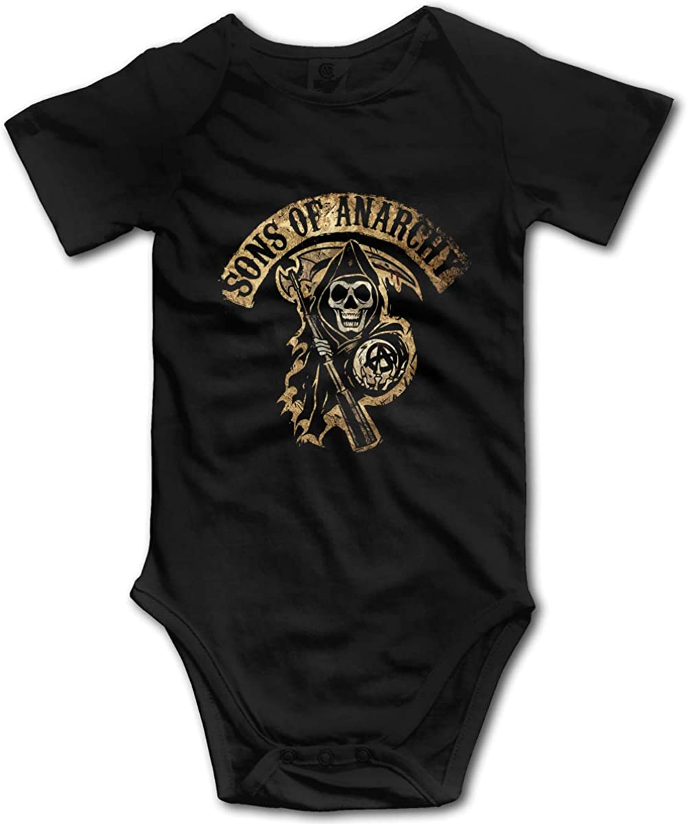 Baby Sons of Anarchy 100% Cotton  Onesie