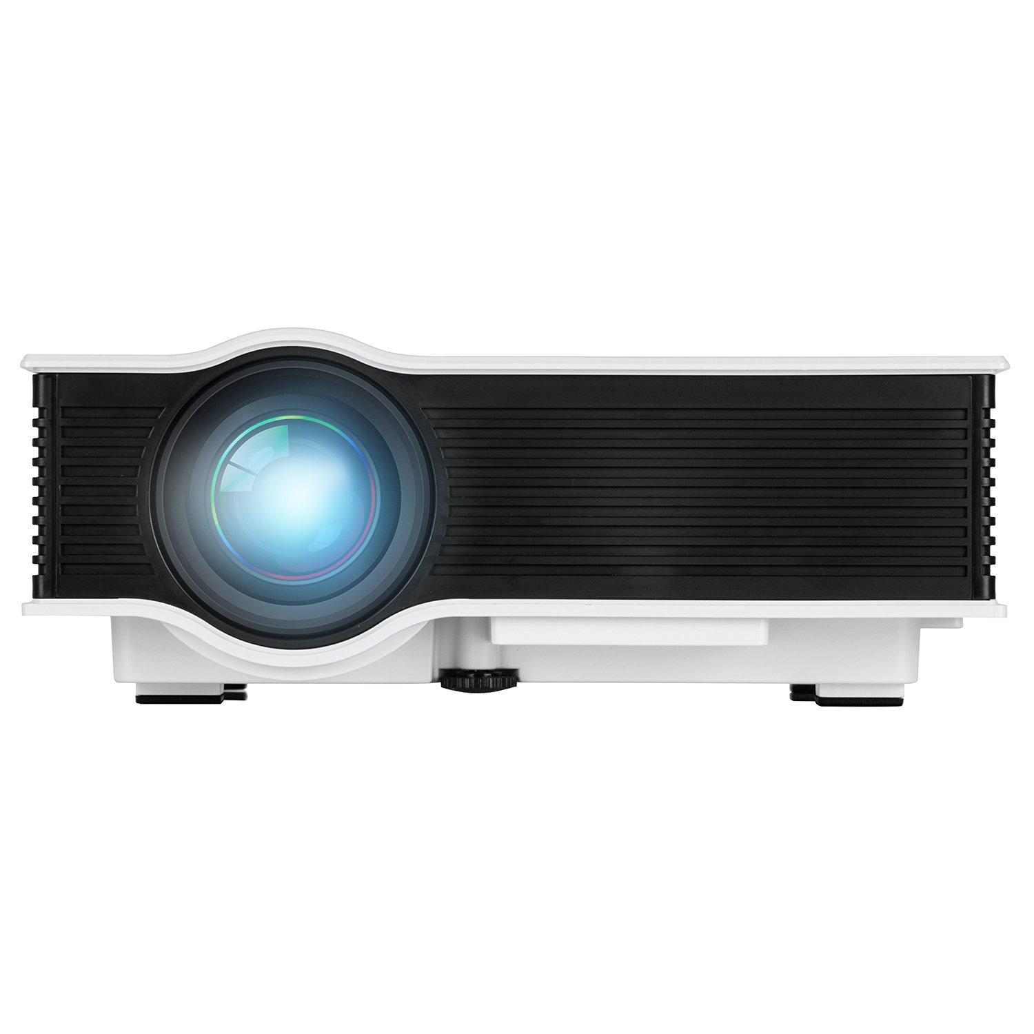 """LED Projector (Warranty Included), ERISAN Updated Full Color 130"""" Image Pro Mini LCD LED Portable Projector For Home Theater Cinema Game-Support HD 1080P Video/800 Lumens IP/IR/USB/SD/HDMI"""