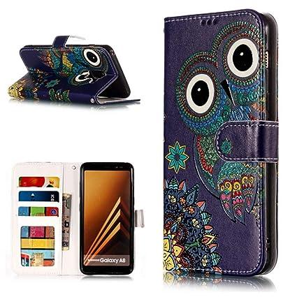 51cd5794cd4d Amazon.com: Find box Samsung Galaxy A8 Phone Case,Colorful Printed ...