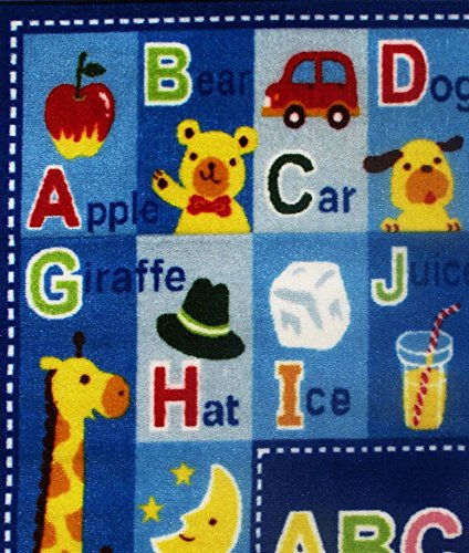 Fun Rugs FT-95 3958 Fun Time Letters & Names