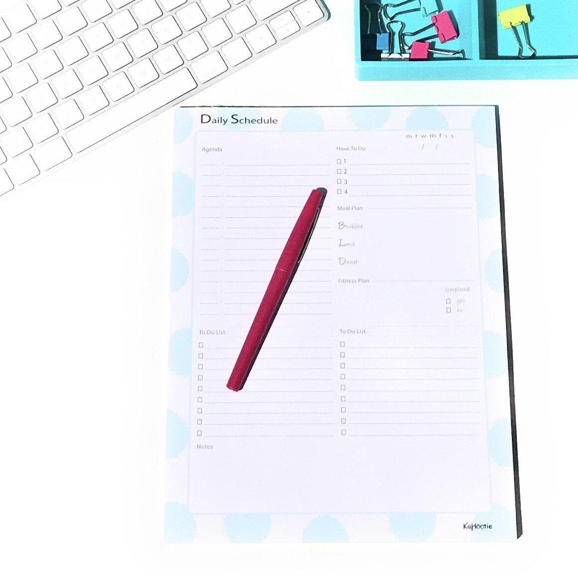 Libreta diario horario diario - Agenda, comida y Plan ...