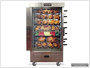 Southwood RG7 35-Chicken NG (LP Avail) Gas Heavy-Duty Rotisserie Machine