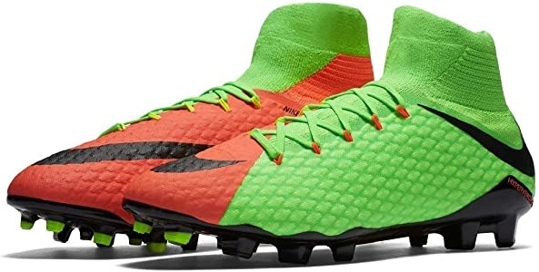 b121237cfa2 Men s Hypervenom Phatal III Dynamic Fit FG Electric Green Black Hyper  Orange Soccer Shoes. Nike Men s Hypervenom Phatal III Dynamic Fit FG  Electric ...