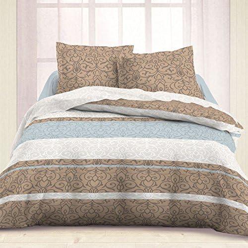Juego de sábanas de franela (algodón) para cama de 160, modelo ...