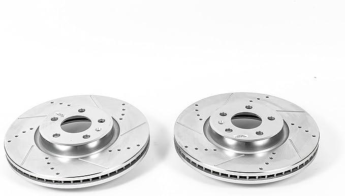 For Audi A7 Quattro w// HD Brakes Set Pair of 2 Front Rear Disc Brake Rotors KIT