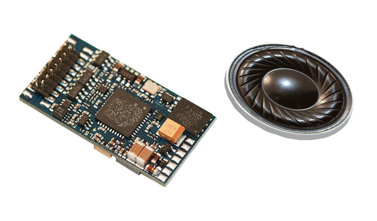 Piko 56372 decodificador de sonido y altavoz BR 111, Vehículo de carril