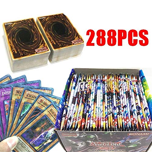 288 Pcs Yu-Gi-Oh! Legendary Collection 1 Box Gameboard Edition - OCG Card Game Playing Cards Gift for Fans ()