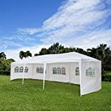 Z ZTDM 10' x 30' Canopy Tent Outdoor Party Wedding Tent with 8 Removable Sidewalls, Gazebo Pavilion Event Dancing Canopy, Upgrade Tube Steel,FREE Stainless Stake and Nylon Ropes