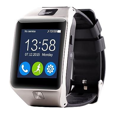 Ai reloj Smartwatch Z20 relojes de pulsera Bluetooth con FM Vídeo, Facebook, podómetro,