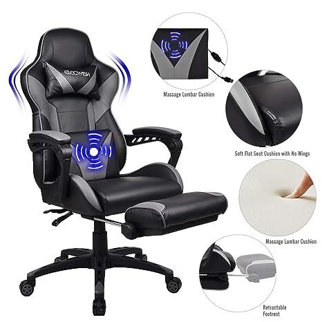 Pleasing Amazon Com Fullwatt Lumber Massage Gaming Chair With Pdpeps Interior Chair Design Pdpepsorg