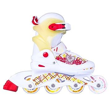 Kinder Joly Skates Action Inliner leuchtenden Inline mit W2DHY9EI