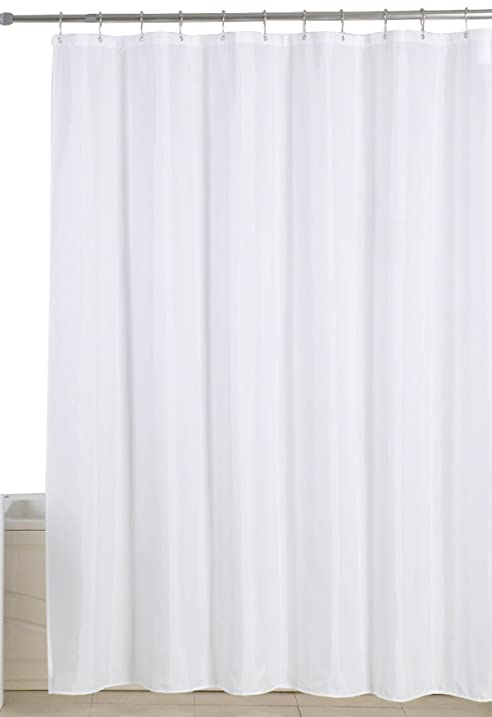 terry cloth shower curtain. Amazon com  Water Repellent Antibacterial and Mildew Resistant 72 Extraordinary White Cloth Shower Curtain Contemporary Best