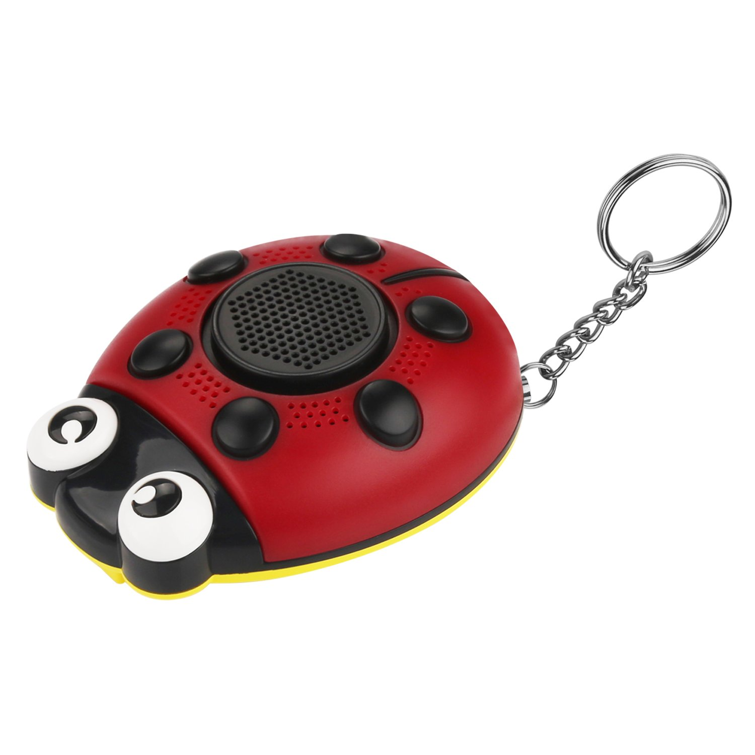 WYAO 130dB person alarm,Siren song SOS Personal Security Alarm could as Self-defense Alarm/Built-in Speaker/Strobe light/flashlight/Hangings with Wrist Strap for kid,women and who works on night
