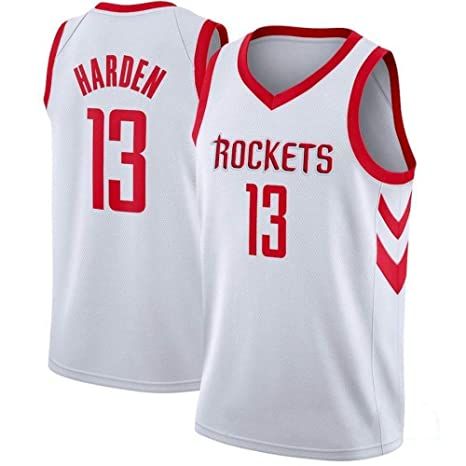 LSJ-ZZ Camiseta de Baloncesto Hombre Harden # 13- NBA Houston ...