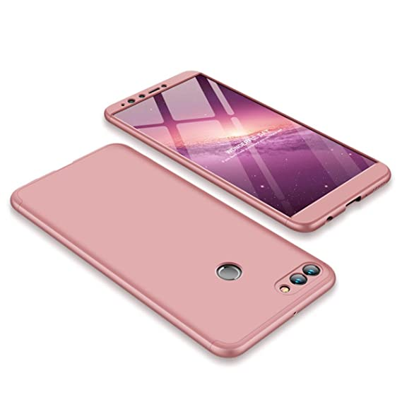 Amazon.com: GUANHAO Case for Huawei Y9 2018, 3 In 1 360 ...
