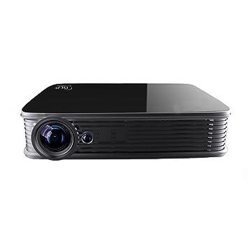 4 K proyector, SJY Android5.1 DLP proyector de cine en casa Mini ...