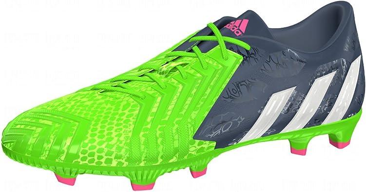 adidas Predator Absolado Instinct FG Football Taquet Chaussures BleuBlancVert Mens 8.5