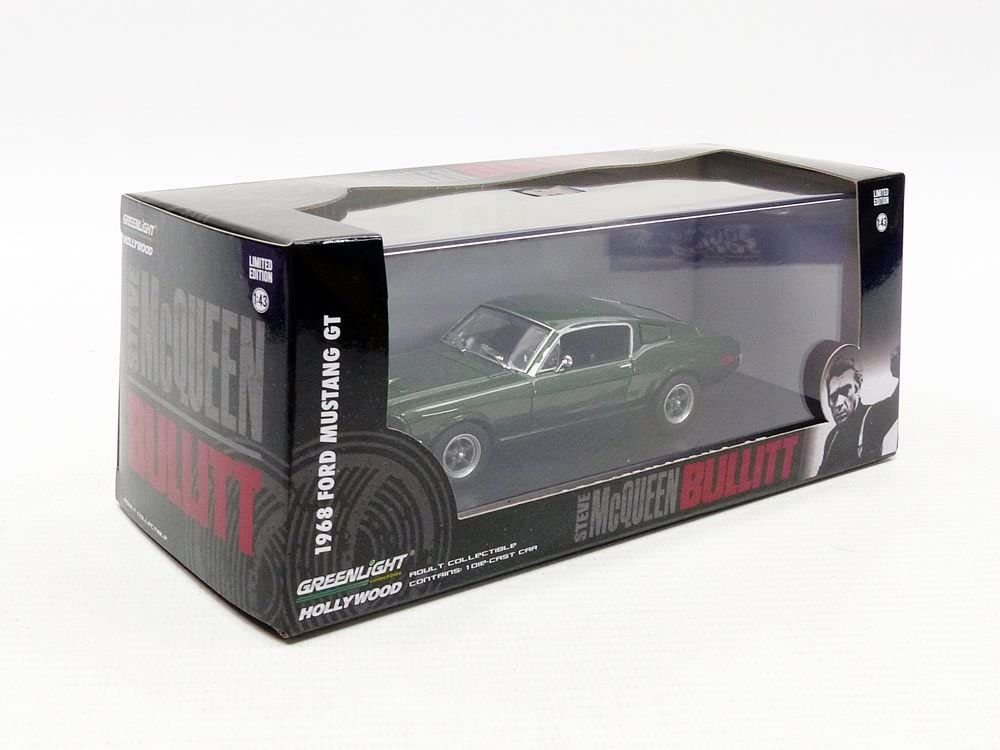 GreenLight Collectibles Hollywood Series 3 1:43 Scale 1968 Ford Mustang Die Cast Vehicle Bullitt