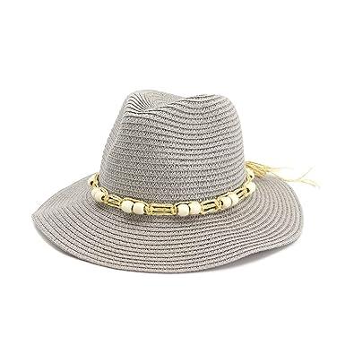 GHC gorras y sombreros Sombrero de paja decorativo de las gotas ...